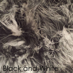 Black and White Marabou